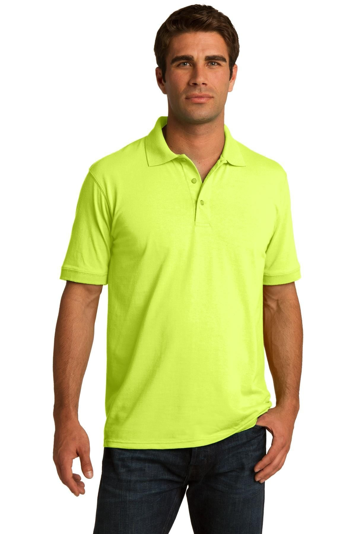 Port & Company ® Tall Core Blend Jersey Knit Polo. KP55T, Basic Colors-Polos/Knits-wholesale apparel