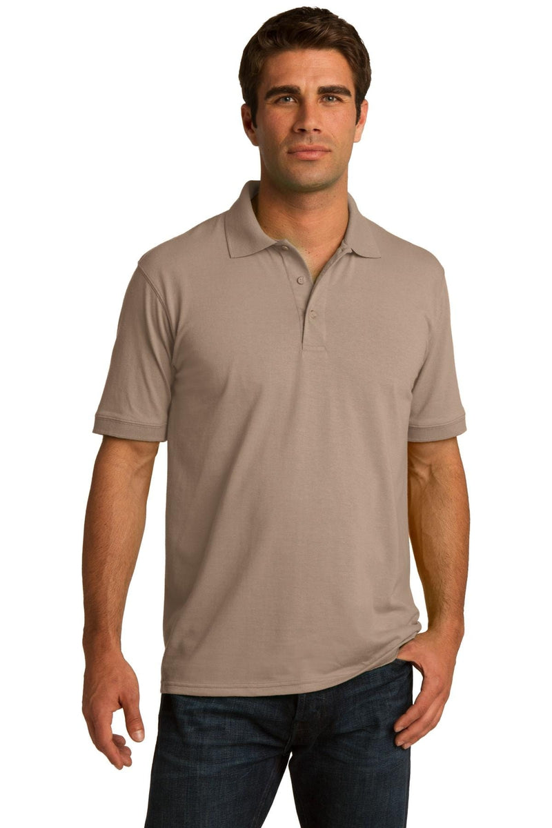 Port & Company ® Core Blend Jersey Knit Polo. KP55, Traditional Colors-Polos/Knits-wholesale apparel
