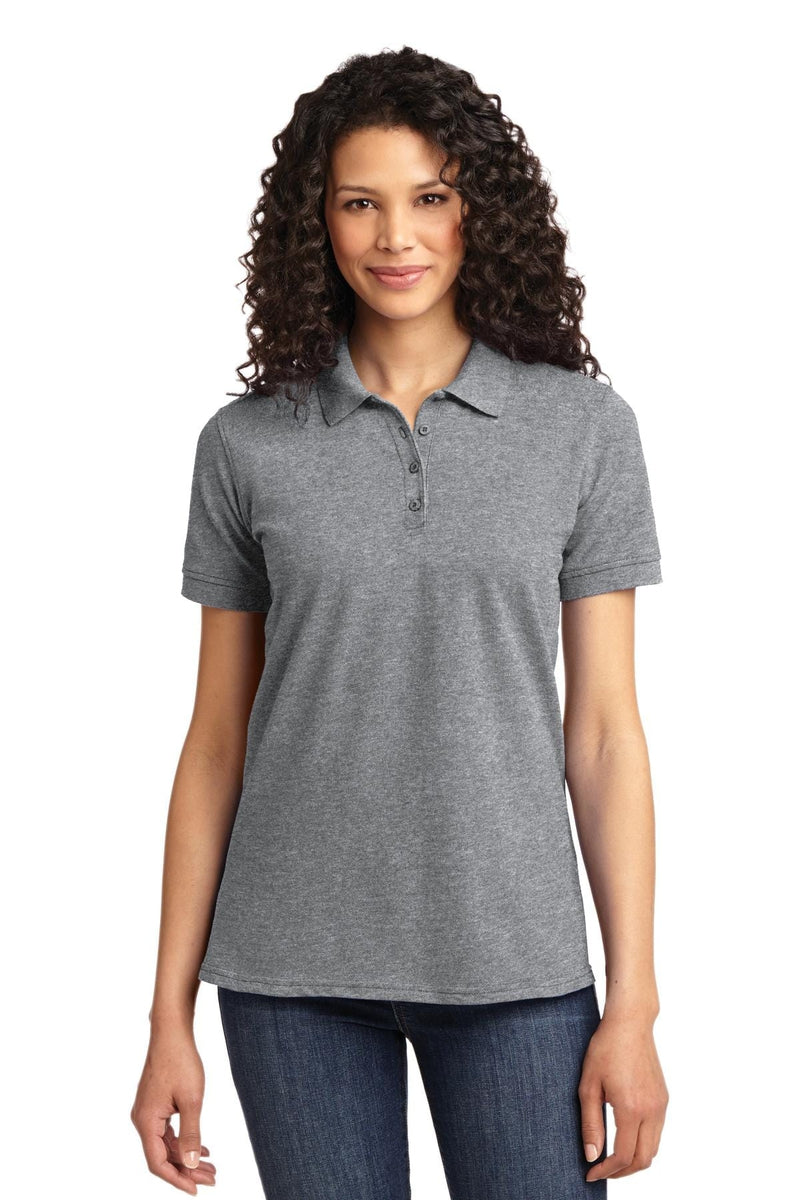 Port & Company ® Ladies Core Blend Pique Polo. LKP155-Polos/Knits-wholesale apparel