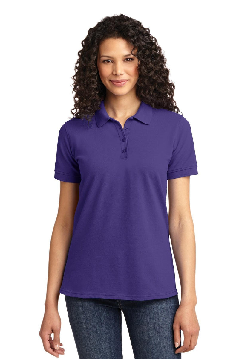 Port & Company ® Ladies Core Blend Pique Polo. LKP155, Basic Colors-Polos/Knits-wholesale apparel