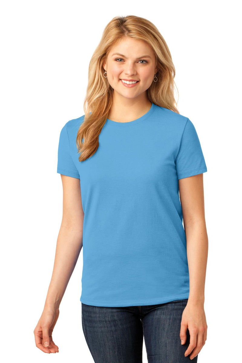 Port & Company ® Ladies Core Cotton Tee. LPC54, Basic Colors-Ladies-wholesale apparel