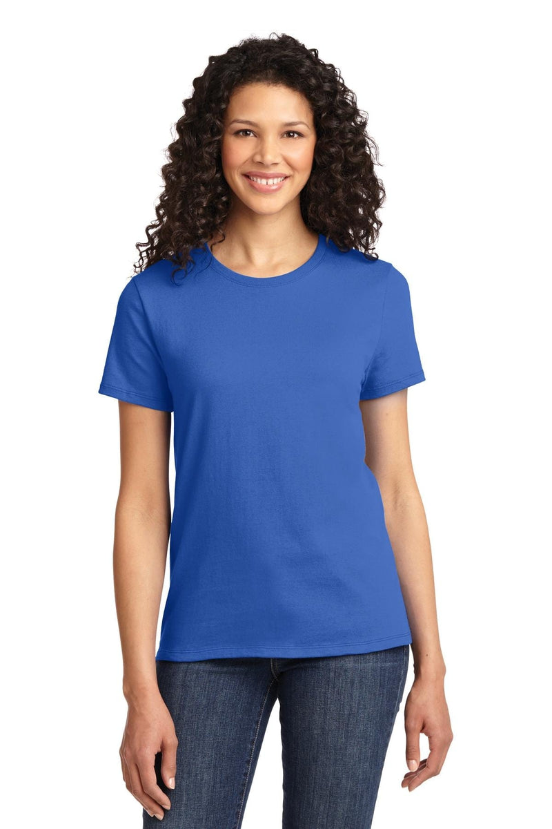 Port & Company ® - Ladies Essential Tee. LPC61, Basic Colors-T-Shirts-wholesale apparel