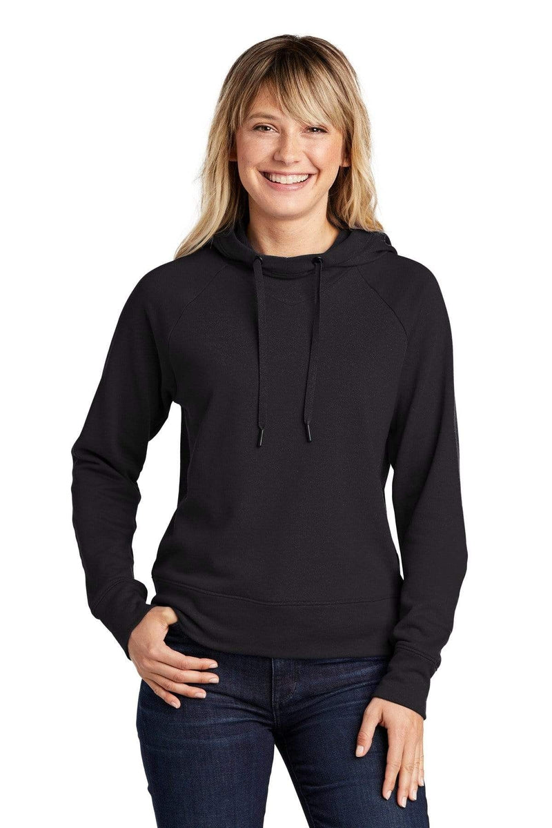 Sport-Tek ® Ladies Lightweight French Terry Pullover Hoodie. LST272-Ladies-wholesale apparel