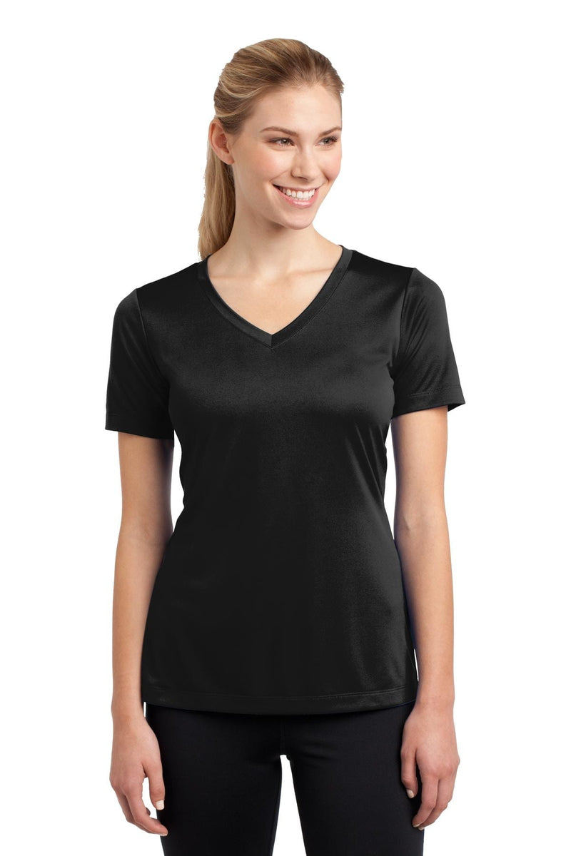 Sport-Tek ® Ladies PosiCharge ® Competitor™ V-Neck Tee. LST353-Activewear-wholesale apparel