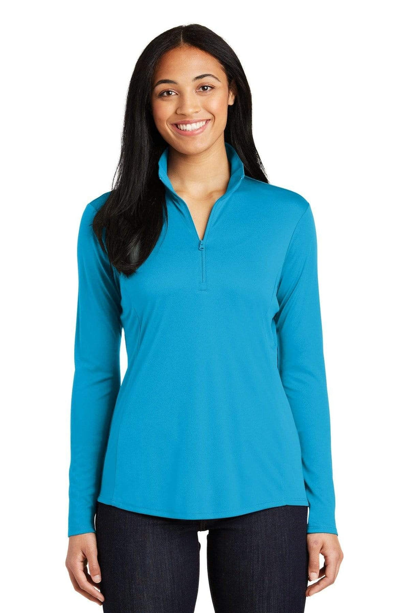 Sport-Tek ® Ladies PosiCharge ® Competitor ™ 1/4-Zip Pullover. LST357, Basic Colors-Activewear-wholesale apparel