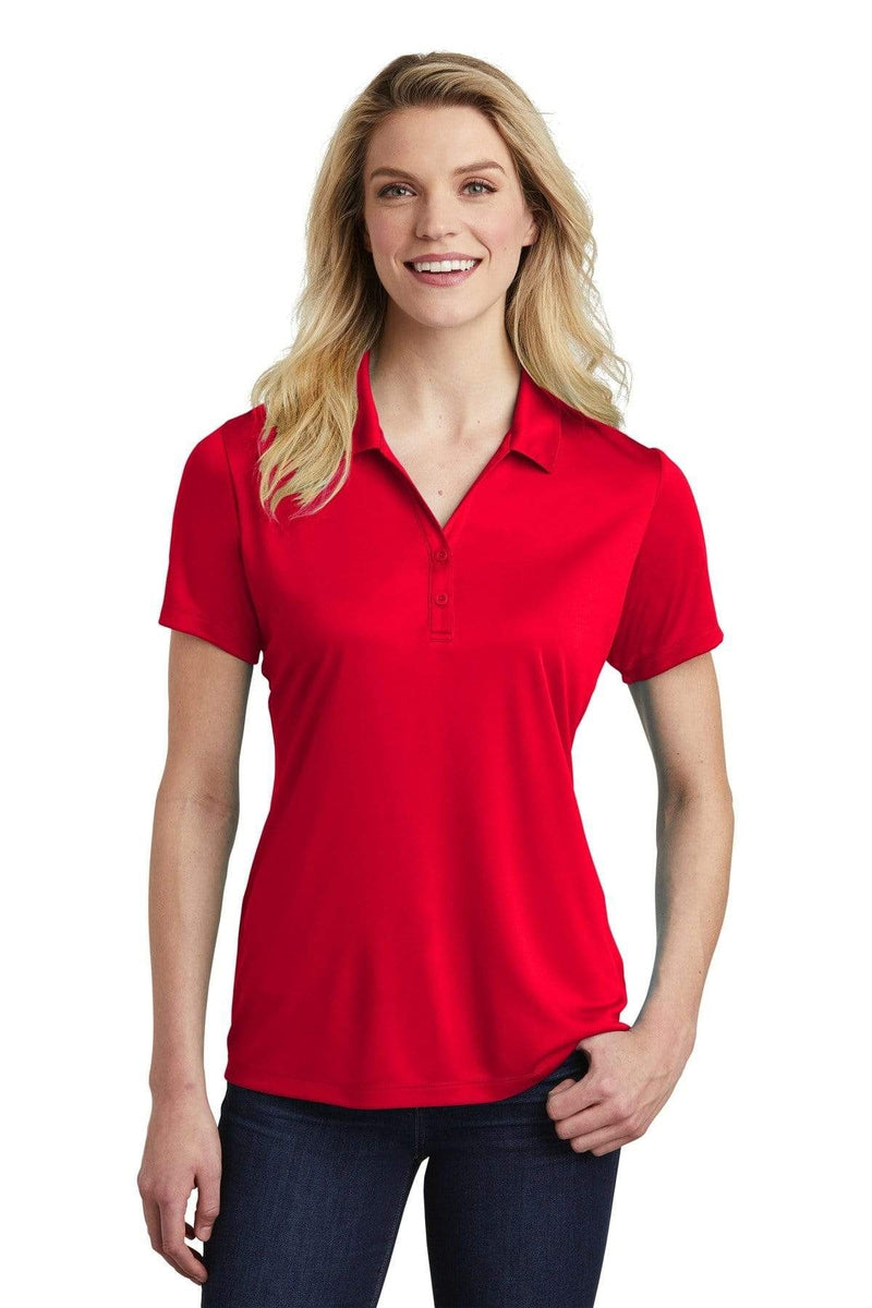 Sport-Tek ® Ladies PosiCharge ® Competitor ™ Polo. LST550, Basic Colors-Polos/Knits-wholesale apparel