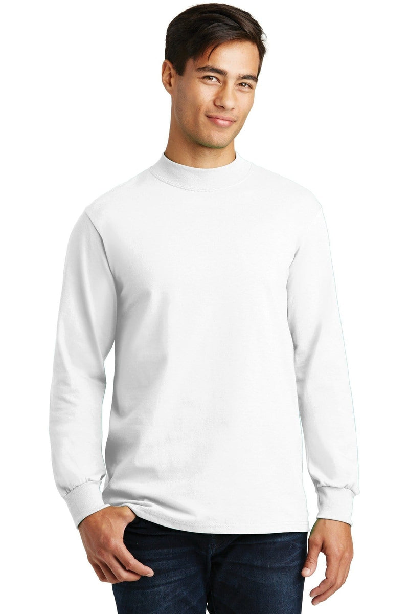 Port & Company ® - Essential Mock Turtleneck. PC61M-Polos/Knits-wholesale apparel