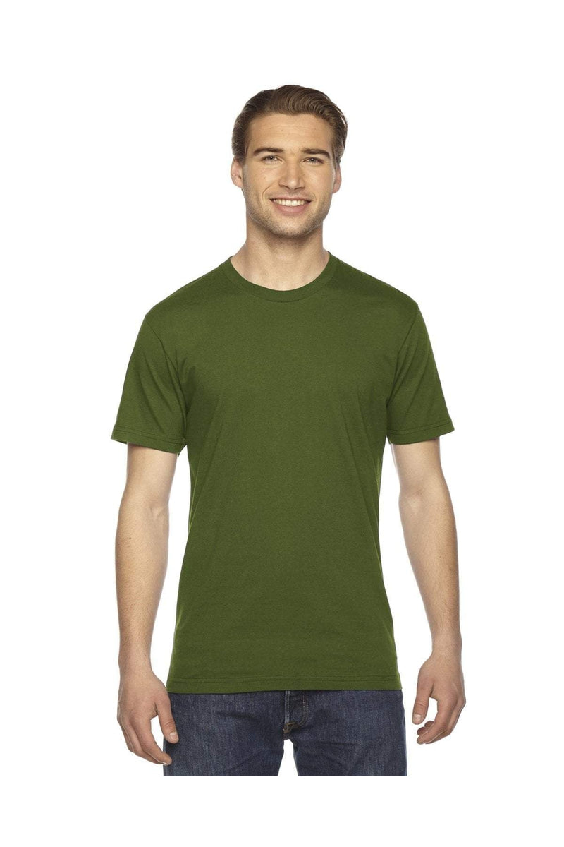 American Apparel 2001W: Unisex Fine Jersey Short-Sleeve T-Shirt-T-Shirts-Bulkthreads.com, Wholesale T-Shirts and Tanks