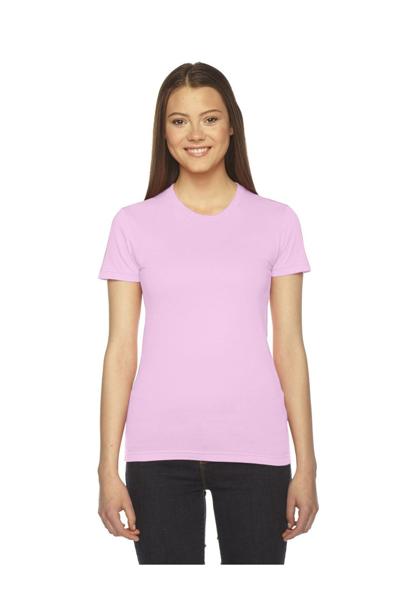 American Apparel 2102W: Ladies' Fine Jersey Short-Sleeve T-Shirt-T-Shirts-Bulkthreads.com, Wholesale T-Shirts and Tanks