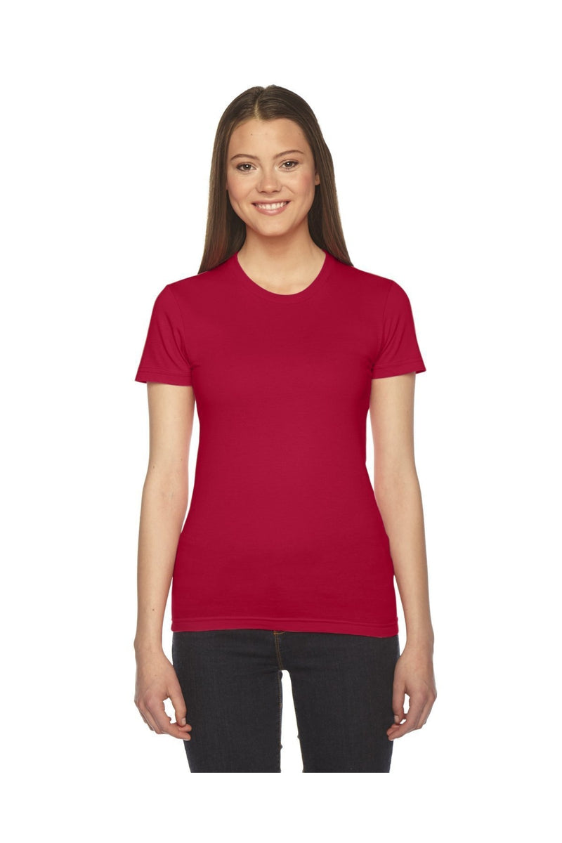 American Apparel 2102W: Ladies' Fine Jersey Short-Sleeve T-Shirt, Basic Colors-T-Shirts-Bulkthreads.com, Wholesale T-Shirts and Tanks