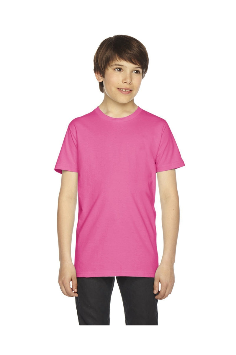 American Apparel 2201W: Youth Fine Jersey Short-Sleeve T-Shirt-T-Shirts-Bulkthreads.com, Wholesale T-Shirts and Tanks