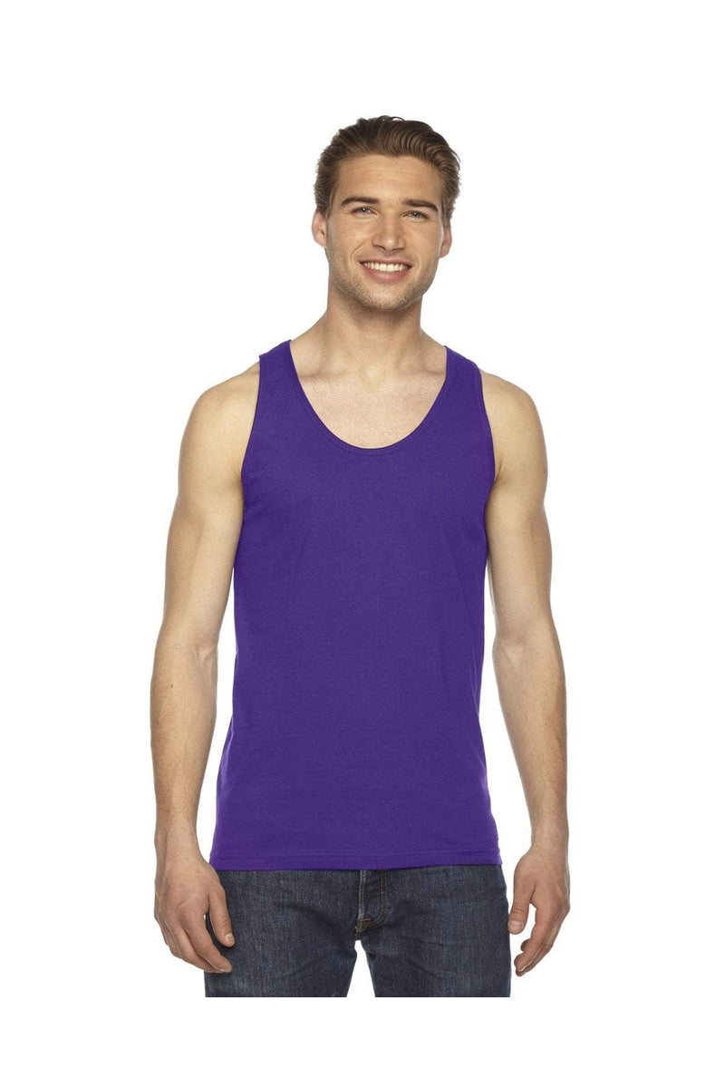 American Apparel 2408W: Unisex Fine Jersey Tank-T-Shirts-Bulkthreads.com, Wholesale T-Shirts and Tanks