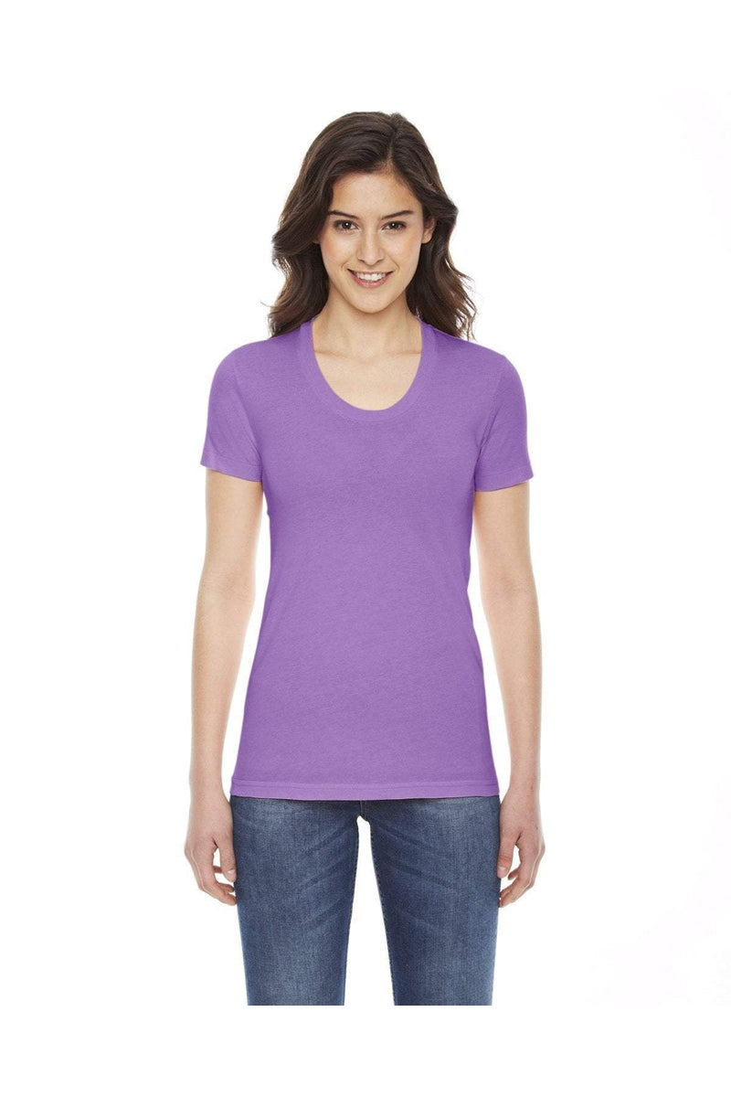 American Apparel BB301W: Ladies' Poly-Cotton Short-Sleeve Crewneck-T-Shirts-Bulkthreads.com, Wholesale T-Shirts and Tanks