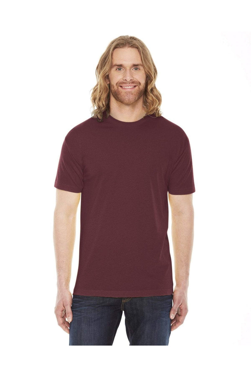 American Apparel BB401W: Unisex Poly-Cotton Short-Sleeve Crewneck, Basic Colors-T-Shirts-Bulkthreads.com, Wholesale T-Shirts and Tanks