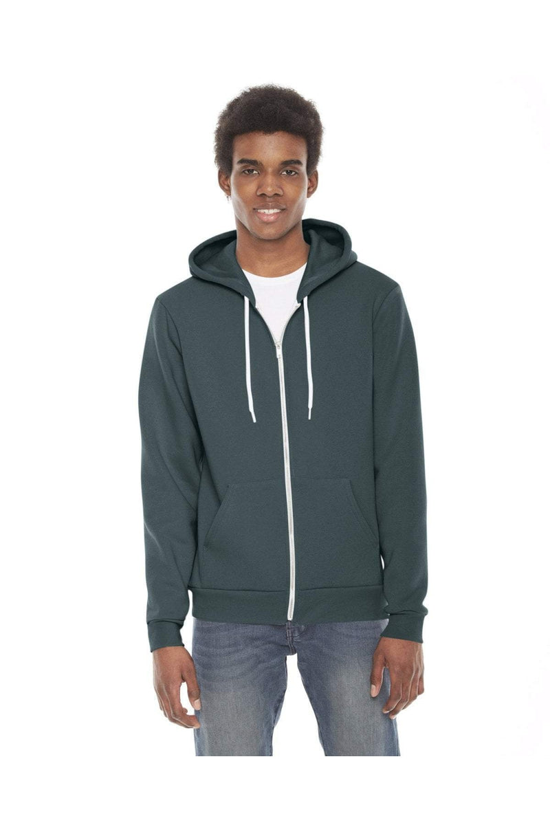 American Apparel F497W: Unisex Flex Fleece Zip Hoodie-Sweatshirts-Bulkthreads.com, Wholesale T-Shirts and Tanks