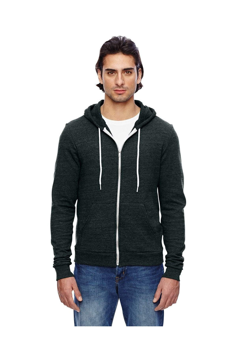 American Apparel TRT497W: Unisex Triblend Full-Zip Hoodie-Sweatshirts-Bulkthreads.com, Wholesale T-Shirts and Tanks