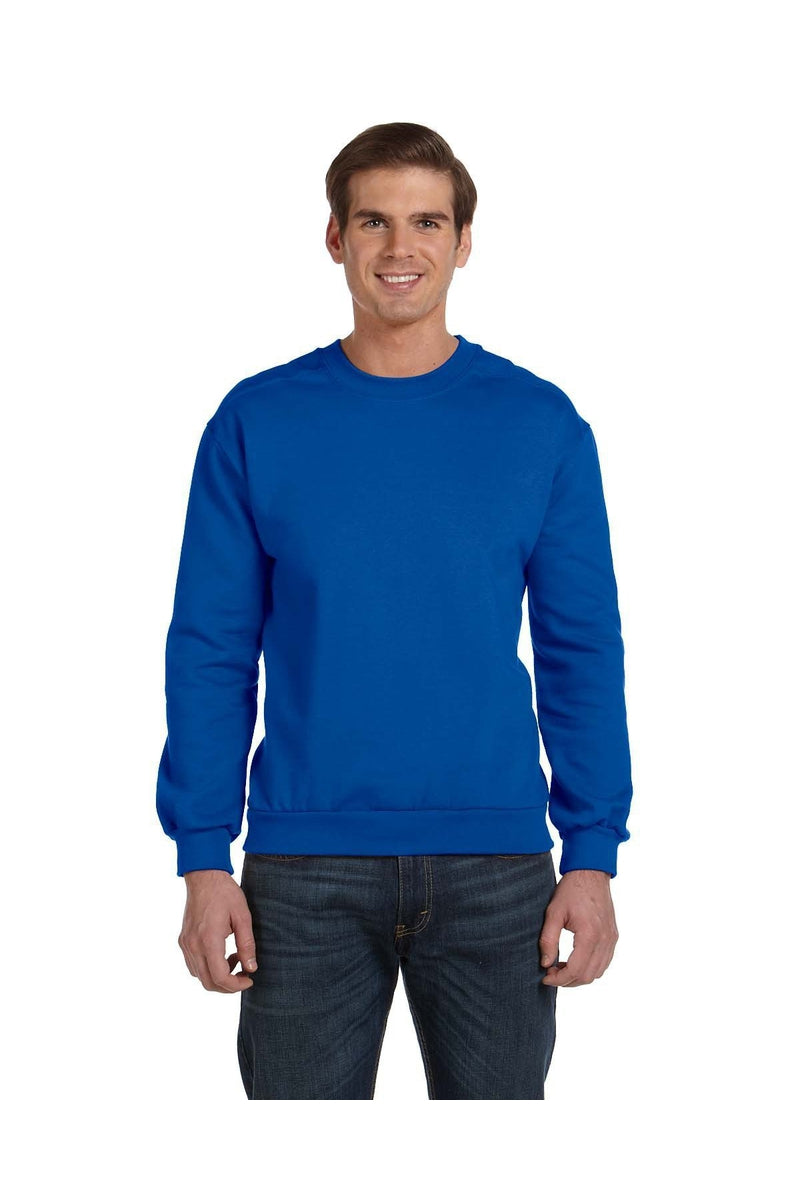 Anvil 71000: Adult Crewneck Fleece-Sweatshirts-Bulkthreads.com, Wholesale T-Shirts and Tanks