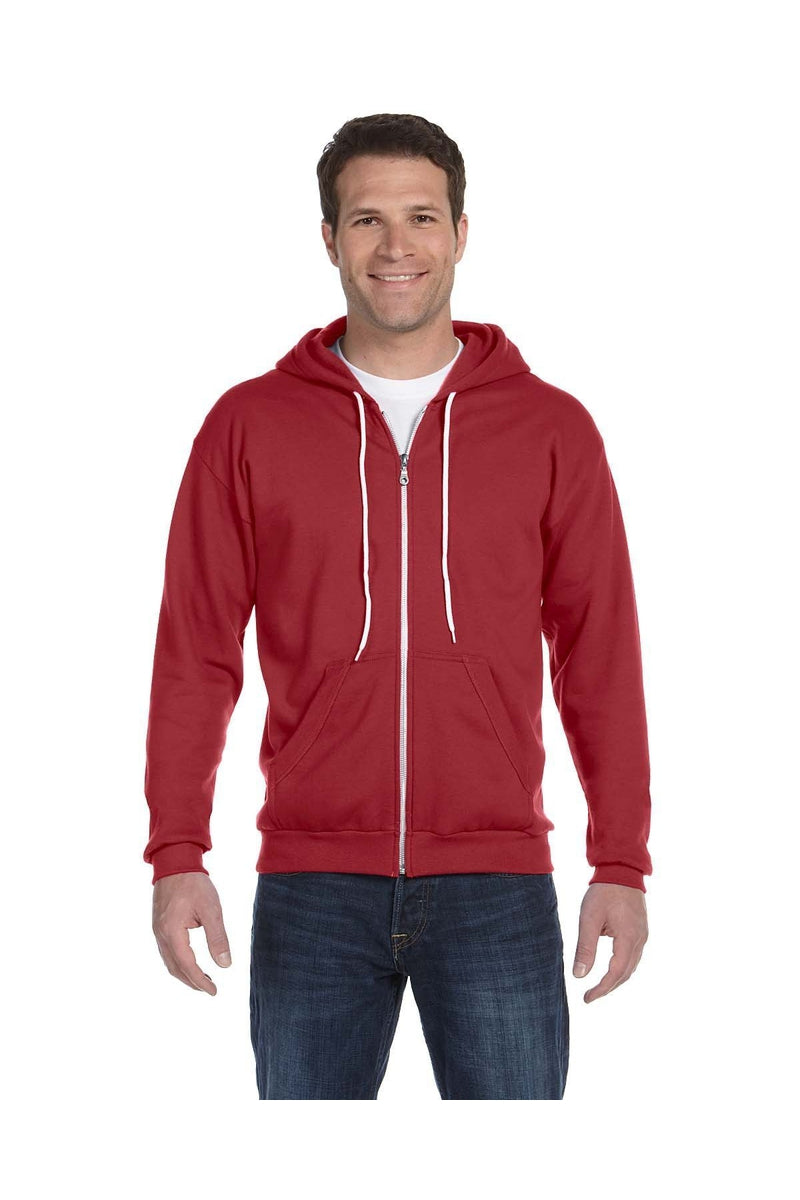 Anvil 71600: Adult Full-Zip Hooded Fleece-Sweatshirts-Bulkthreads.com, Wholesale T-Shirts and Tanks