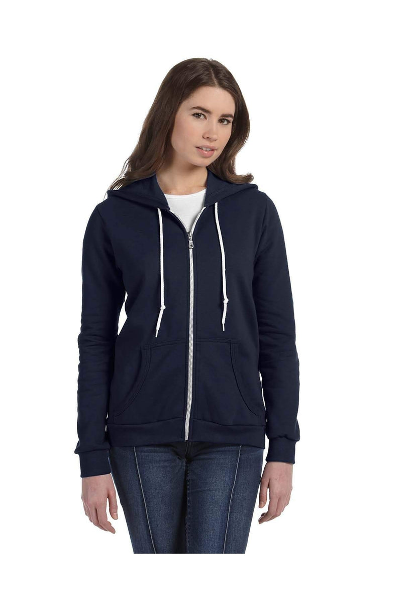 Anvil 71600L: Ladies' Full-Zip Hooded Fleece-Anvil-Bulkthreads.com