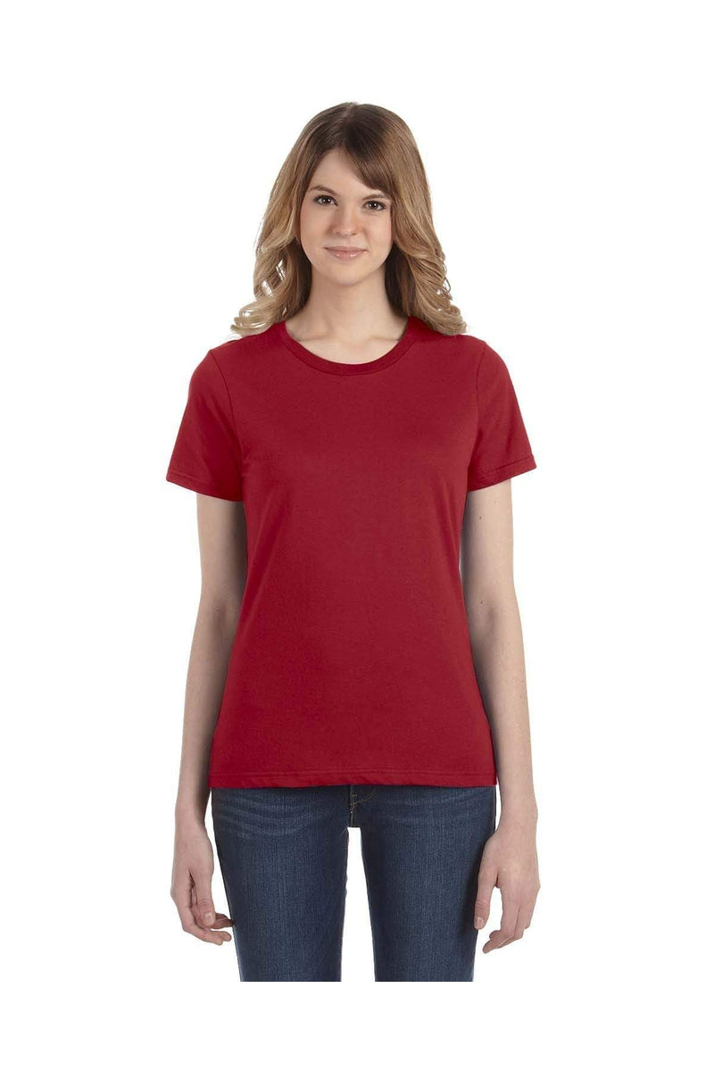 Anvil 880: Ladies' Lightweight T-Shirt, Basic Colors-T-Shirts-Bulkthreads.com, Wholesale T-Shirts and Tanks
