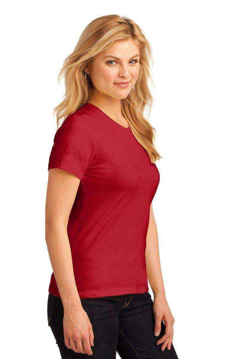 Anvil 880: Semi Fitted T-Shirt-Ladies T-Shirt-Anvil-S-Red-wholesale t shirts -Bulkthreads.com