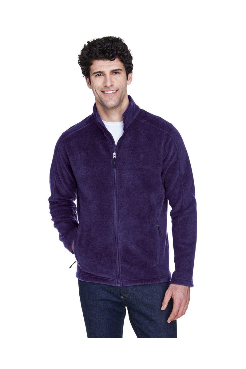 Ash City - Core 365 88190: Men's Journey Fleece Jacket-Fleece-Bulkthreads.com, Wholesale T-Shirts and Tanks