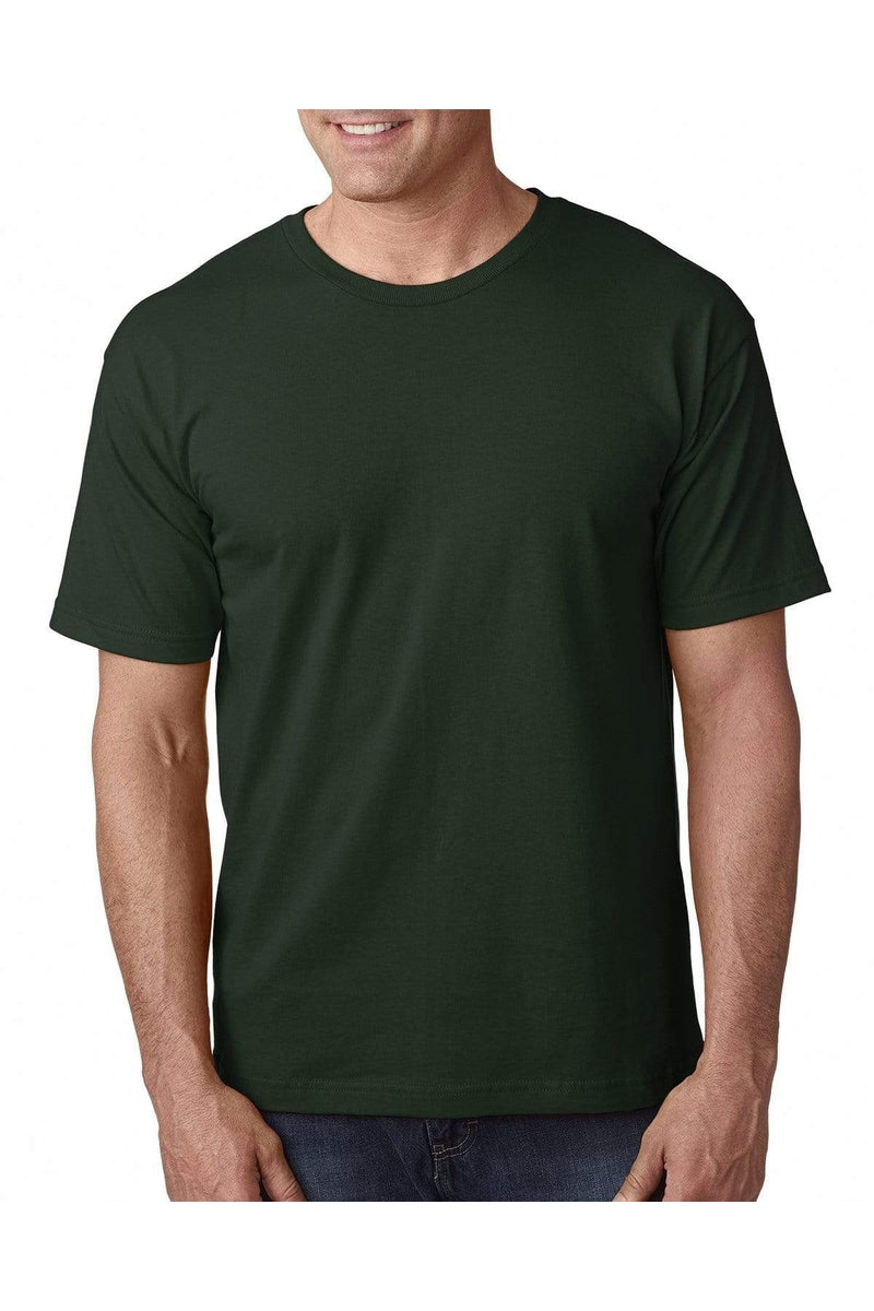 Bayside BA5040: Adult 5.4 oz., 100% Cotton T-Shirt, Basic Colors-T-Shirts-Bulkthreads.com, Wholesale T-Shirts and Tanks