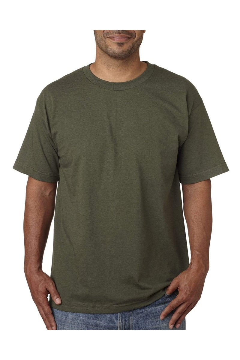 Bayside BA5040: Adult 5.4 oz., 100% Cotton T-Shirt-T-Shirts-Bulkthreads.com, Wholesale T-Shirts and Tanks