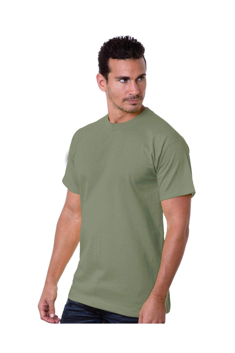 Bayside BA5100: Adult 6.1 oz., 100% Cotton T-Shirt, Traditional Colors-T-Shirts-Bulkthreads.com, Wholesale T-Shirts and Tanks
