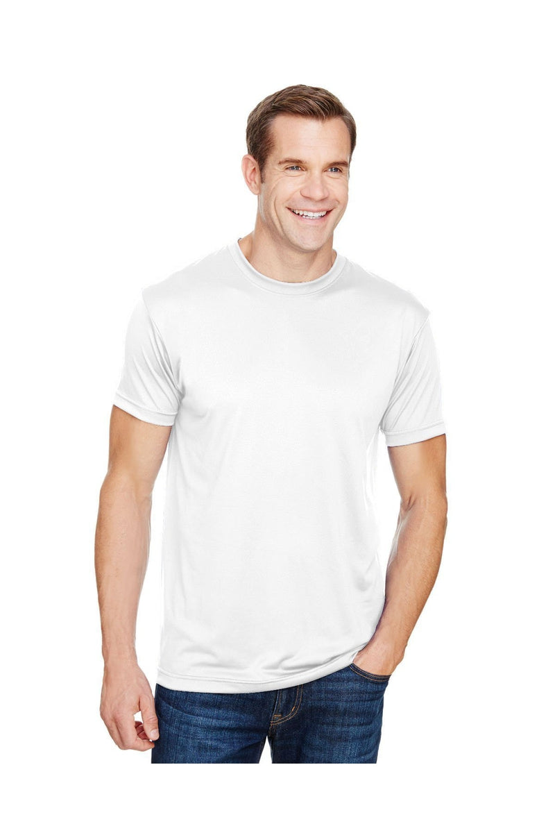 Bayside BA5300: Unisex 4.5 oz., Polyester Performance T-Shirt-T-Shirts-Bulkthreads.com, Wholesale T-Shirts and Tanks