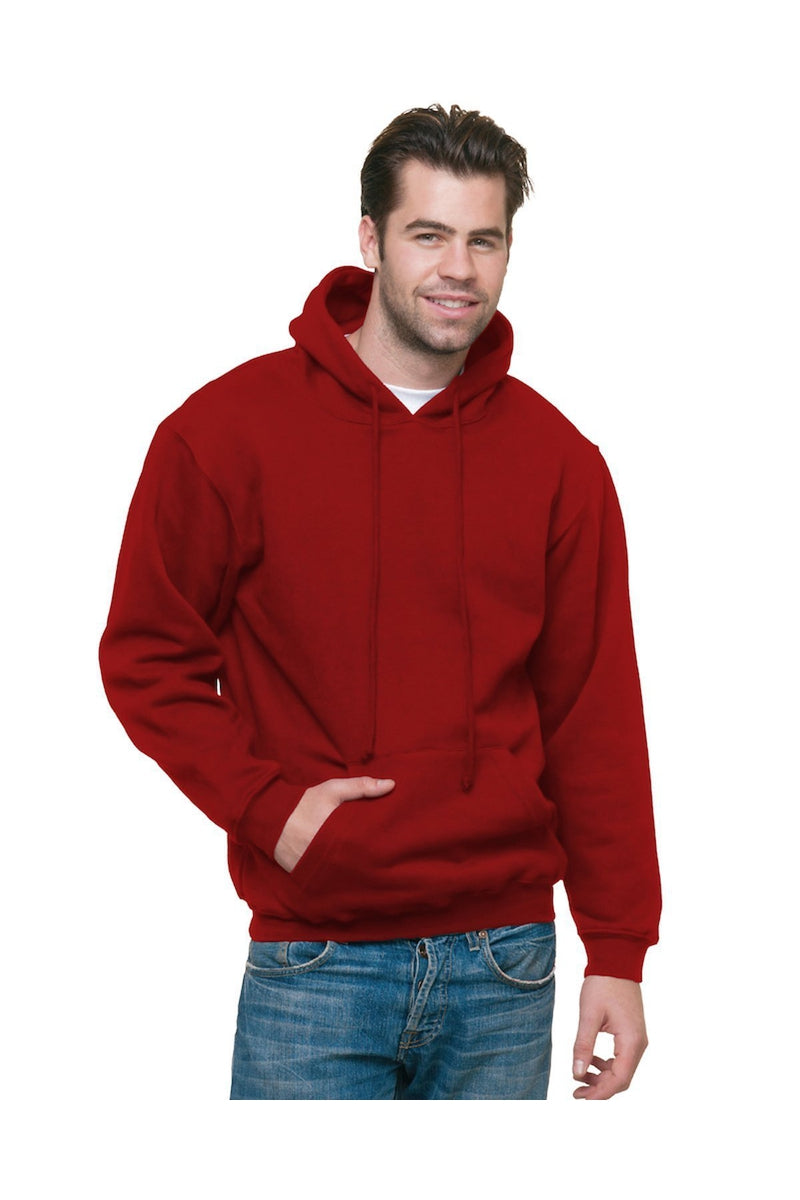 Bayside BA960: Adult 9.5 oz., 80/20 Pullover Hooded Sweatshirt-Sweatshirts-Bulkthreads.com, Wholesale T-Shirts and Tanks
