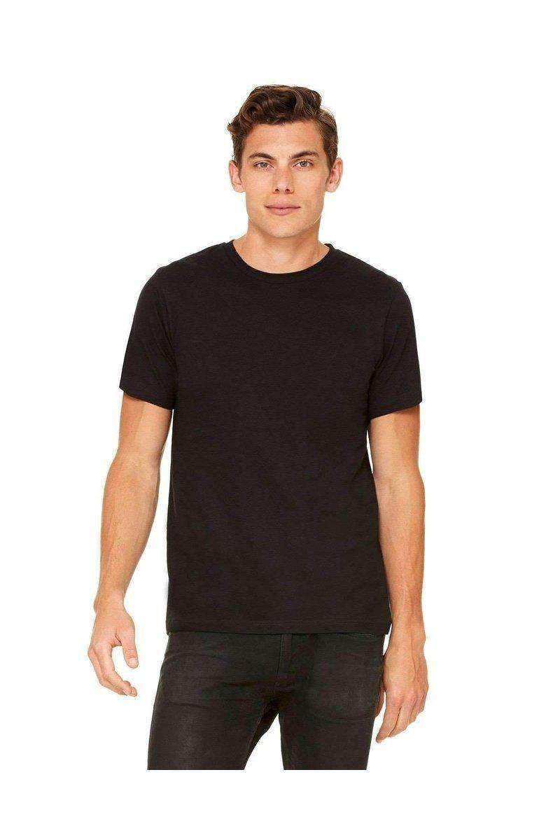 Bella + Canvas 3650: Unisex, Soft Feel-Men's T-Shirts-Bella+Canvas-XS-Black-wholesale t shirts -Bulkthreads.com