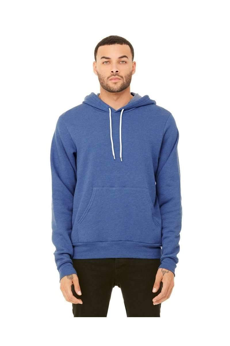 Bella + Canvas 3719: Wholesale Unisex Pullover Hoodie-Hoodie-Bulkthreads.com, Wholesale T-Shirts and Tanks