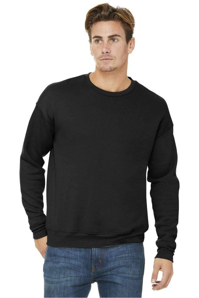 Bella Canvas 3945: Unisex Sponge Fleece Drop Shoulder Sweatshirt-Sweatshirts/Fleece-Bulkthreads.com, Wholesale T-Shirts and Tanks