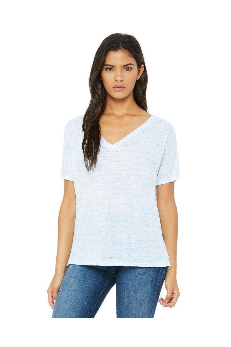 Bella + Canvas 8815: Slouchy V-Neck T-Shirt-Ladies T-Shirt-Bulkthreads.com, Wholesale T-Shirts and Tanks