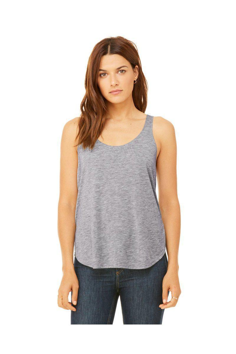 Bella + Canvas B8802: Flowy Side Slit Tank-Ladies T-Shirt-Bulkthreads.com, Wholesale T-Shirts and Tanks