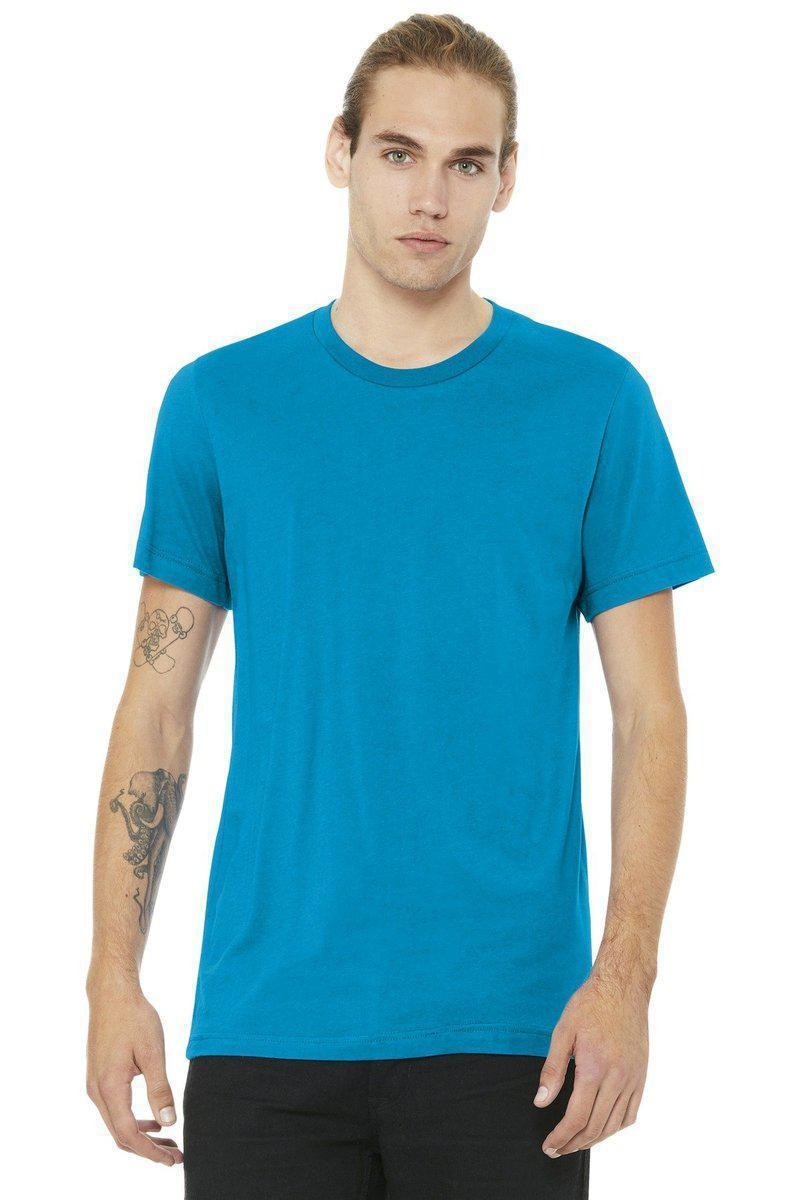Bella+Canvas 3001C: Unisex, 100% Ringspun Cotton or 52/48 Blend-Men's T-Shirts-Bulkthreads.com, Wholesale T-Shirts and Tanks