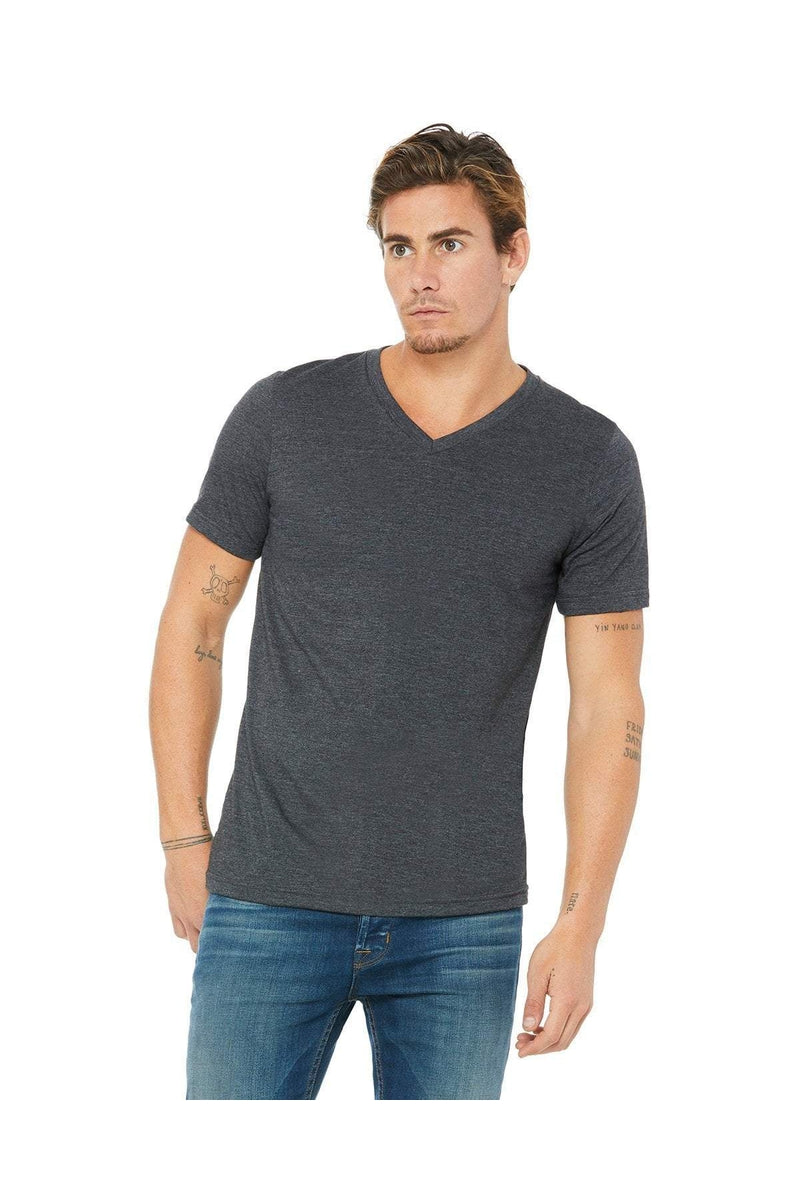 Bella+Canvas 3005: Unisex Jersey Short-Sleeve V-Neck T-Shirt, Extended Colors-T-Shirts-Bulkthreads.com, Wholesale T-Shirts and Tanks
