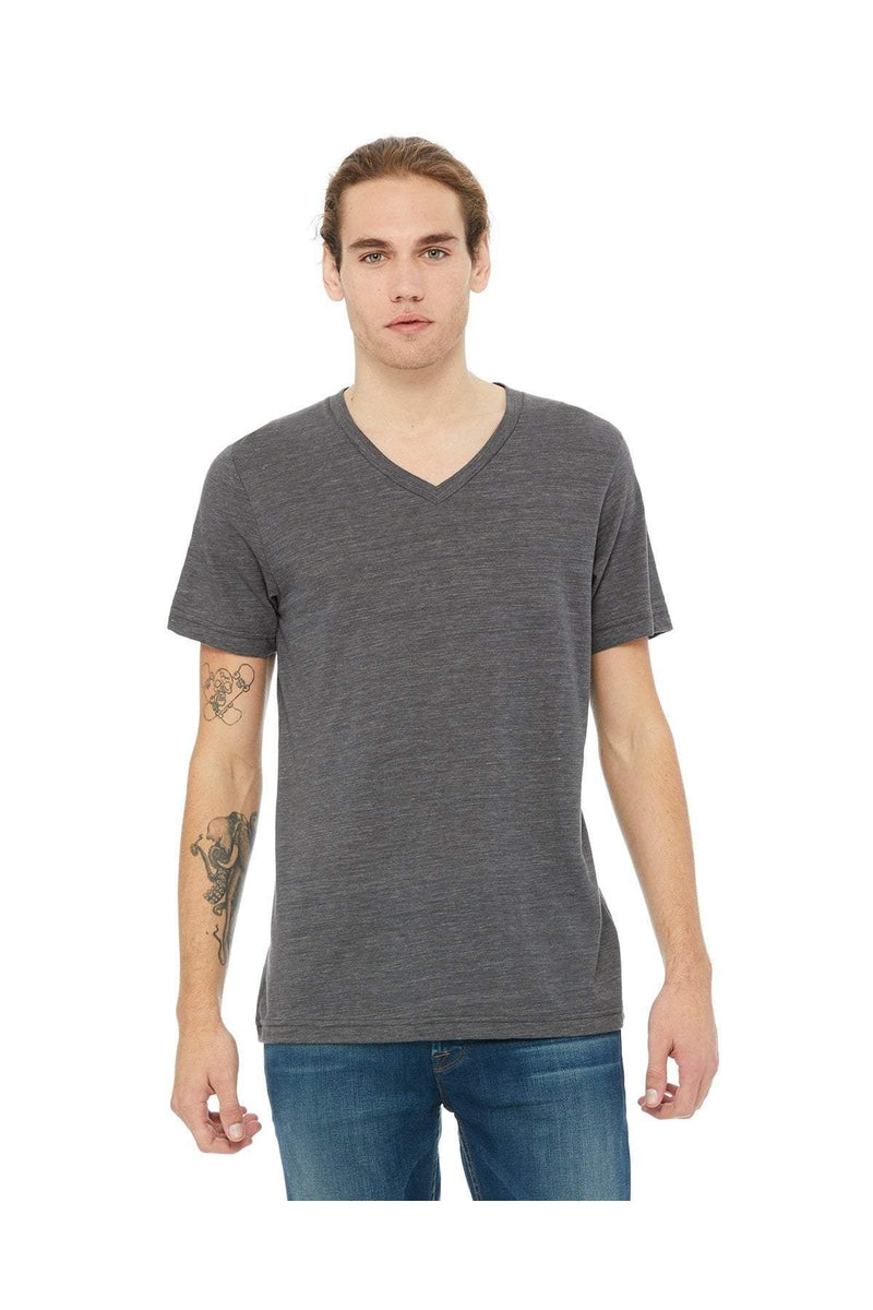 Bella+Canvas 3005: Unisex Jersey Short-Sleeve V-Neck T-Shirt, Traditional Colors-T-Shirts-Bulkthreads.com, Wholesale T-Shirts and Tanks