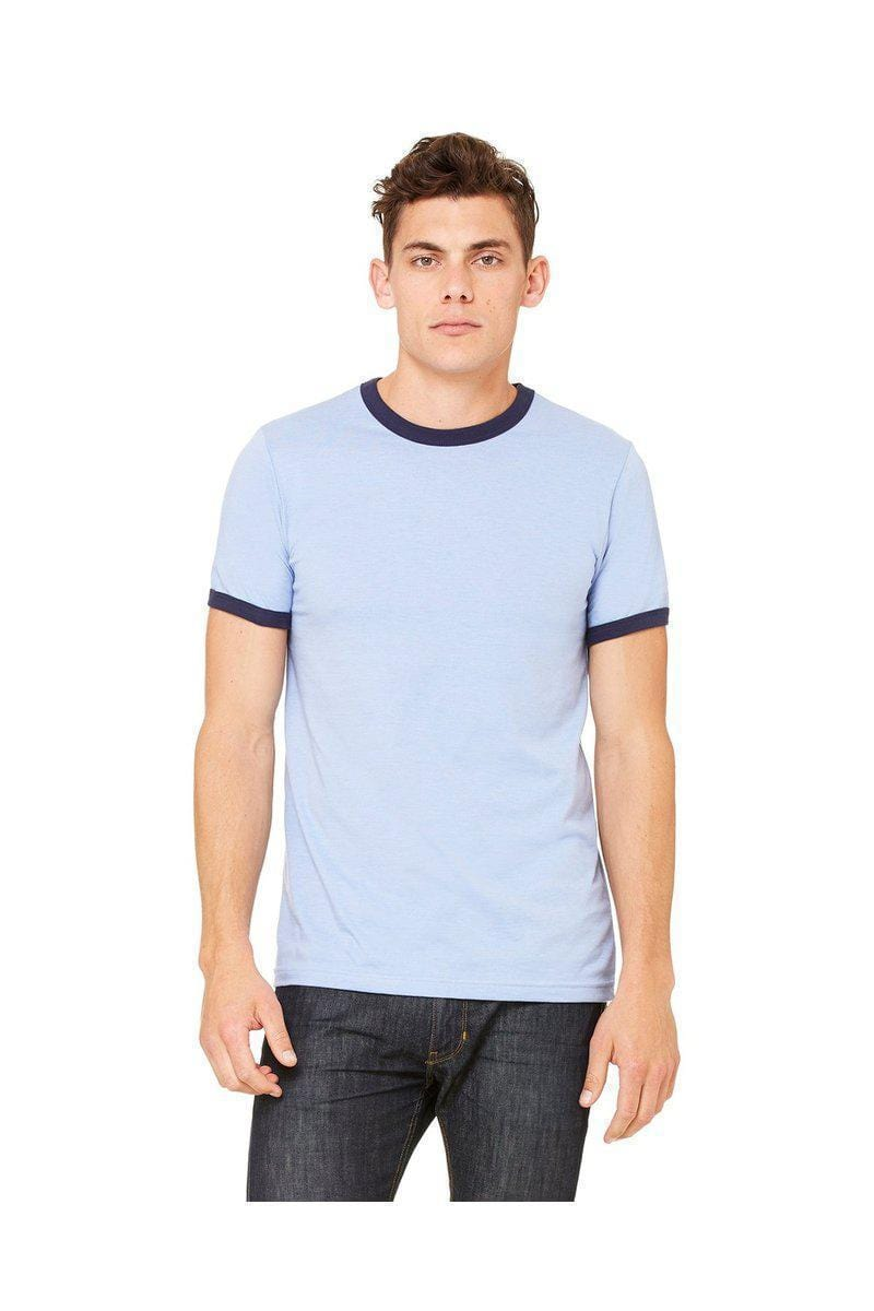 Bella+Canvas 3055C: Men's Jersey Ringer T-Shirt-Jersey-Bulkthreads.com, Wholesale T-Shirts and Tanks