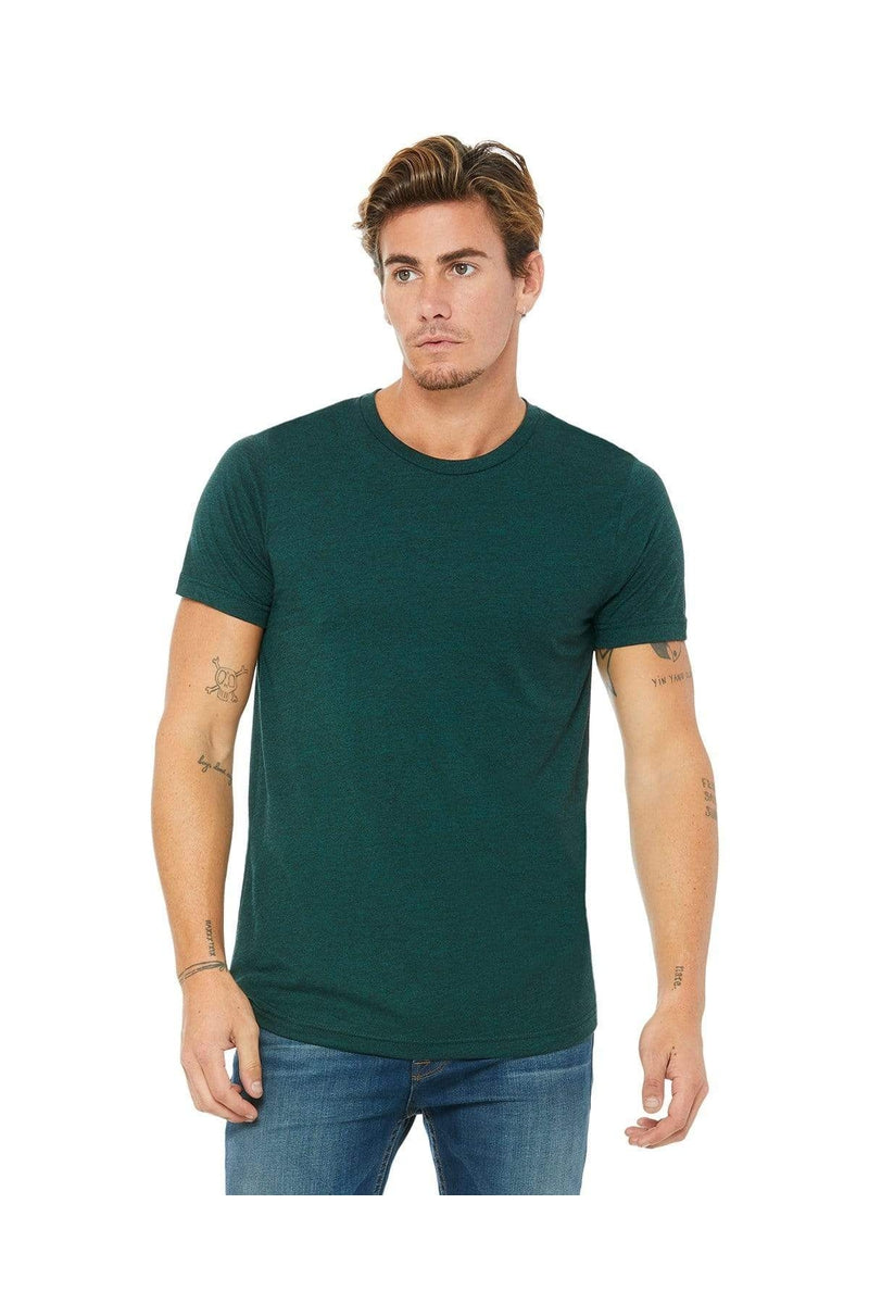Bella+Canvas 3413C: Unisex Triblend Short-Sleeve T-Shirt, Basic Colors-T-Shirts-Bulkthreads.com, Wholesale T-Shirts and Tanks
