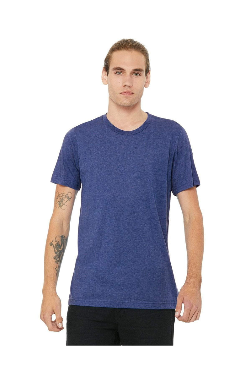 Bella+Canvas 3413C: Unisex Triblend Short-Sleeve T-Shirt, Extended Colors-T-Shirts-Bulkthreads.com, Wholesale T-Shirts and Tanks