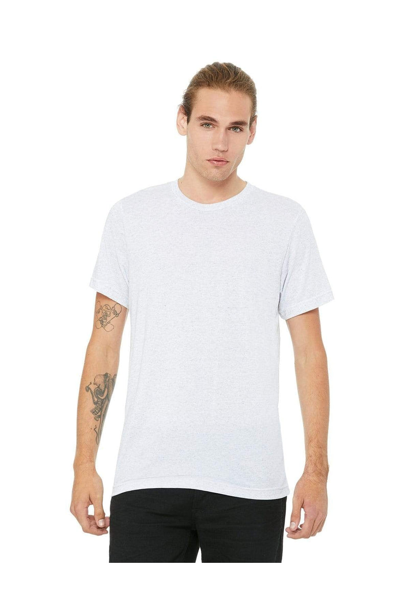 Bella+Canvas 3413C: Unisex Triblend Short-Sleeve T-Shirt, Traditional Colors-T-Shirts-Bulkthreads.com, Wholesale T-Shirts and Tanks