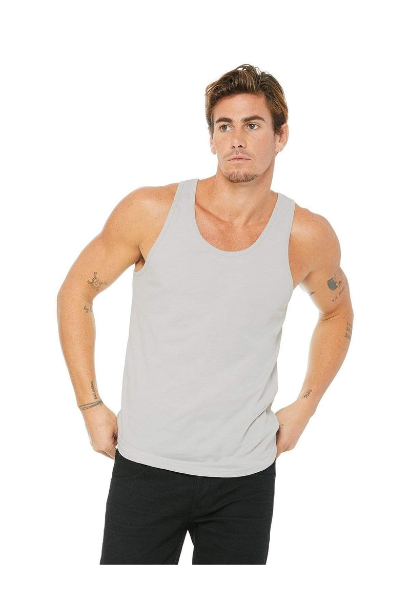 Bella+Canvas 3480: Unisex Jersey Tank, Basic Colors-T-Shirts-Bulkthreads.com, Wholesale T-Shirts and Tanks