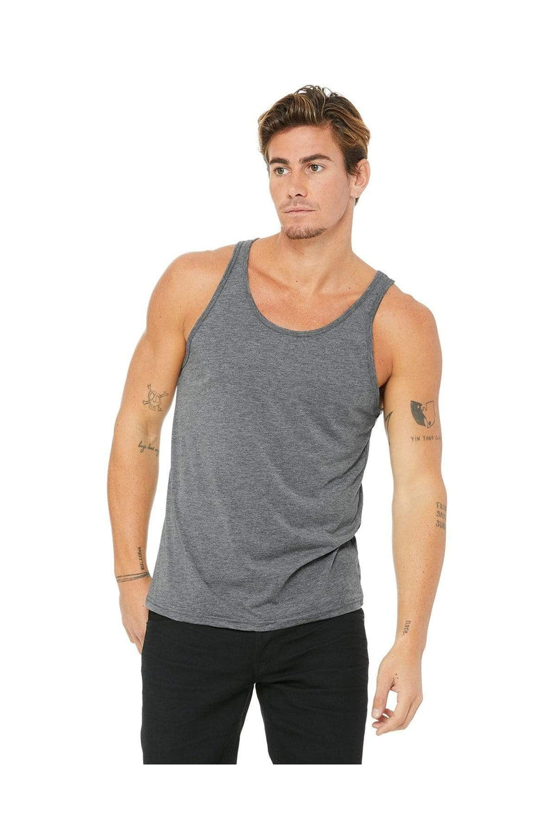 Bella+Canvas 3480: Unisex Jersey Tank, Traditional Colors-T-Shirts-Bulkthreads.com, Wholesale T-Shirts and Tanks