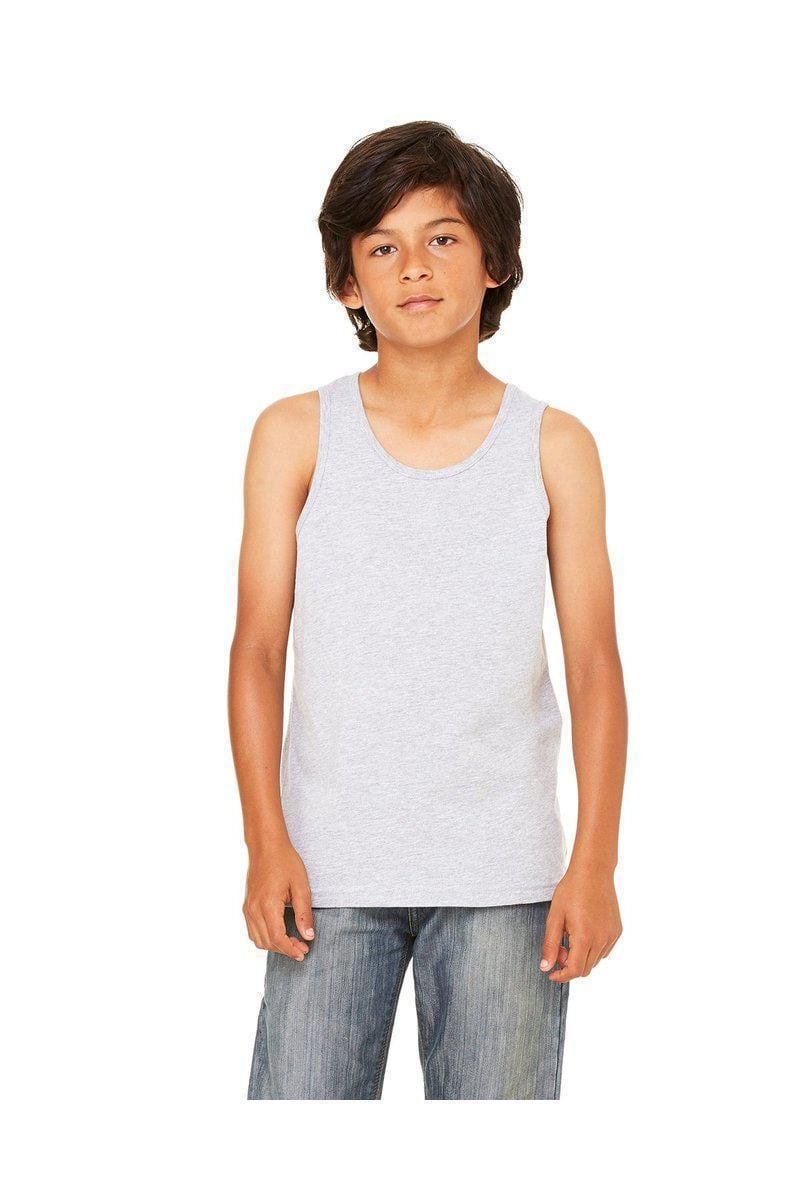 Bella+Canvas 3480Y: Youth Jersey Tank-Tank Top-Bulkthreads.com, Wholesale T-Shirts and Tanks