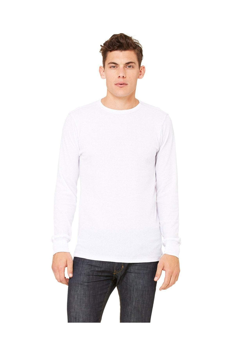 Bella+Canvas 3500: Men's Thermal Long-Sleeve T-Shirt-T-Shirts-Bulkthreads.com, Wholesale T-Shirts and Tanks