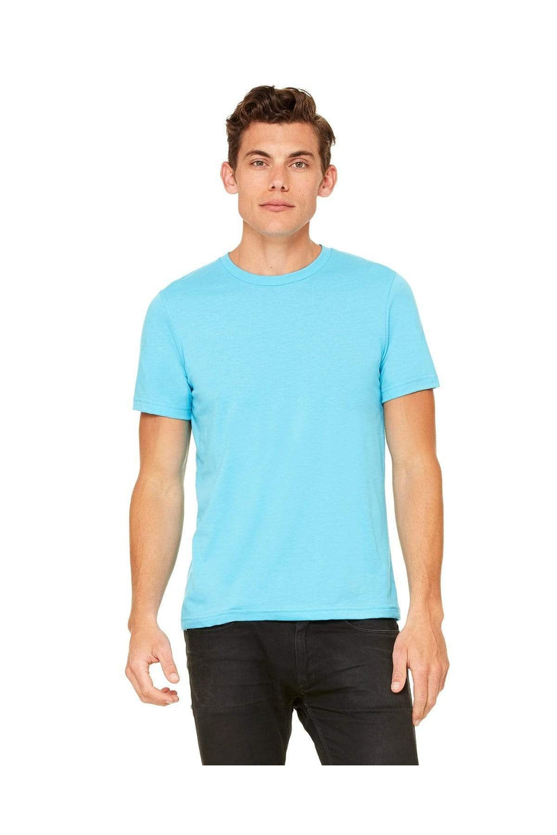 Bella+Canvas 3650: Unisex Poly-Cotton Short-Sleeve T-Shirt, Basic Colors-T-Shirts-Bulkthreads.com, Wholesale T-Shirts and Tanks