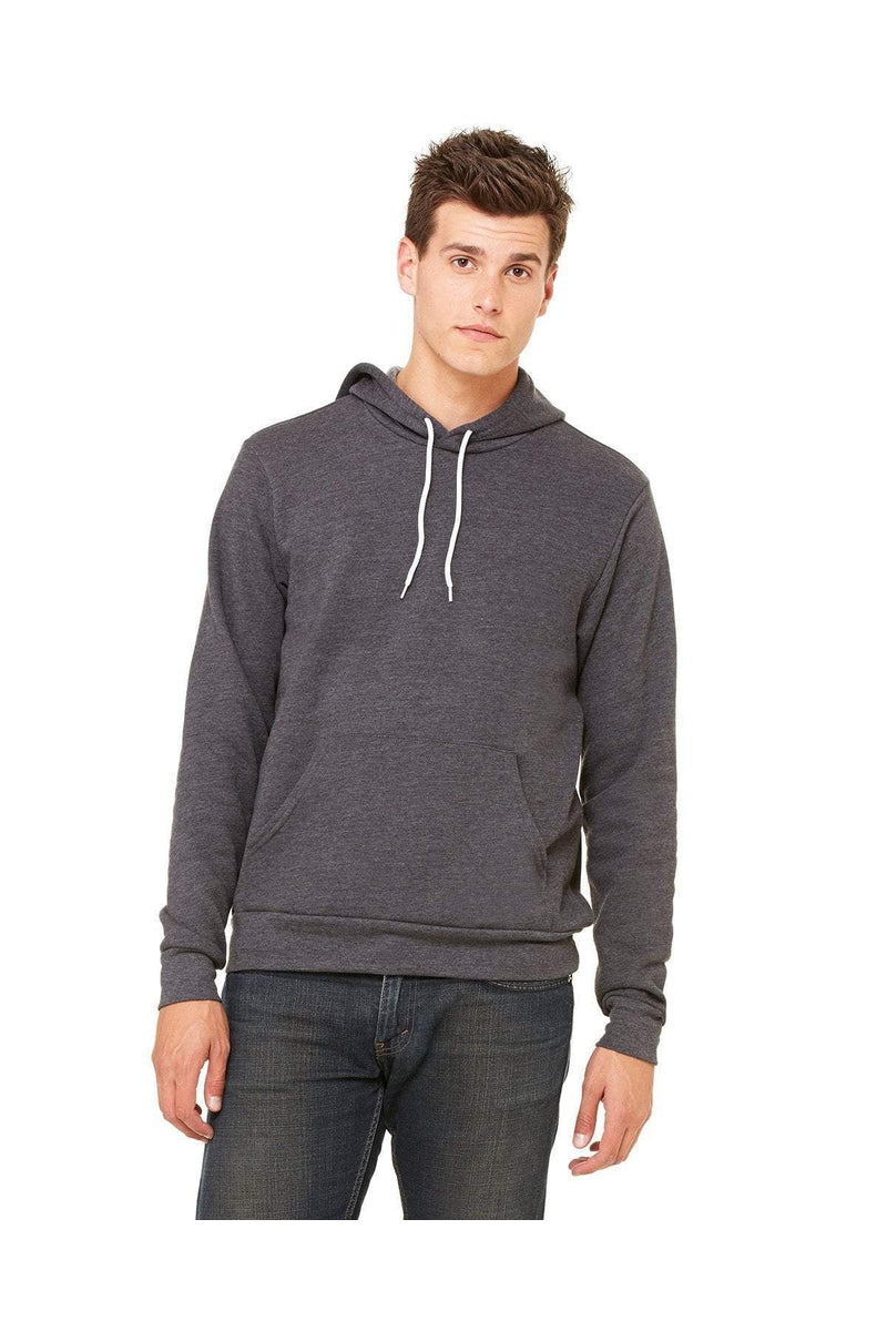 Bella+Canvas 3719: Unisex Sponge Fleece Pullover Hoodies-Sweatshirts-Bulkthreads.com, Wholesale T-Shirts and Tanks