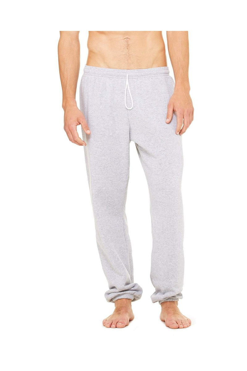 Bella+Canvas 3737: Unisex Sponge Fleece Long Scrunch Pant-Sweatshirts-Bulkthreads.com, Wholesale T-Shirts and Tanks